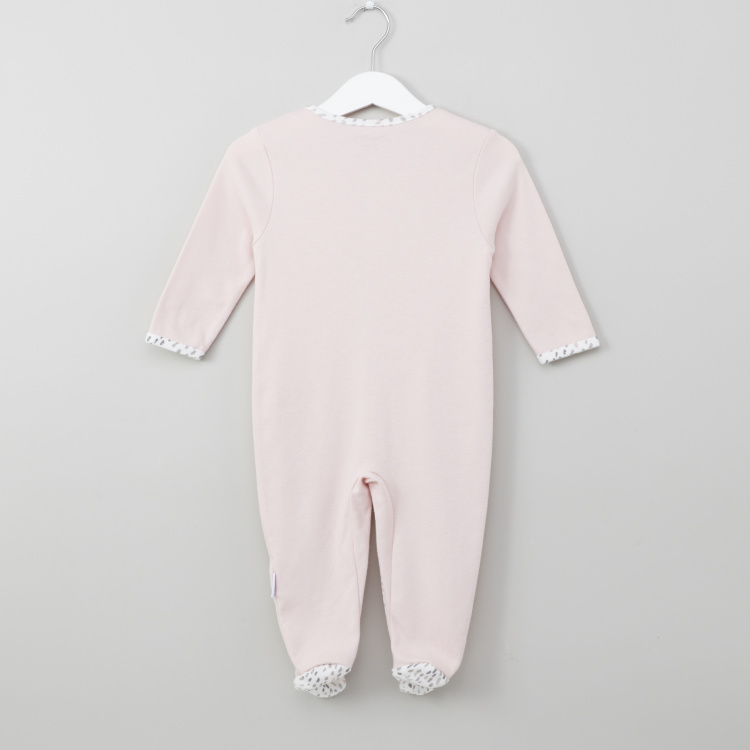 Juniors Pocket Detail Closed Feet Sleepsuit
