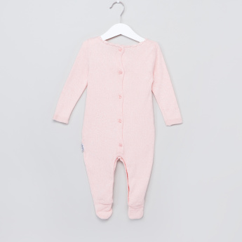 Juniors Long Sleeves Button Closure Sleepsuit