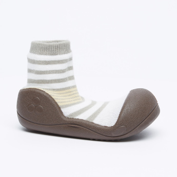 Attipas Striped Soft Shoes