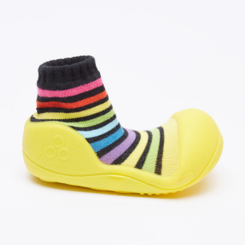 Attipas Striped Baby Shoes