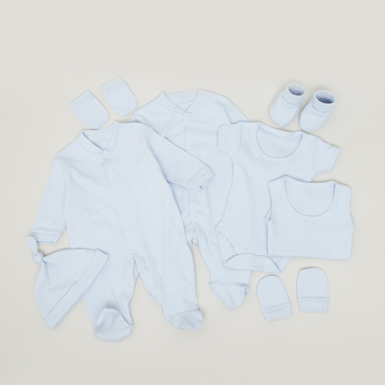 Juniors Solid 8-piece Apparel  Set