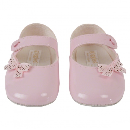 Mary Jane Shoes with Polka Bow