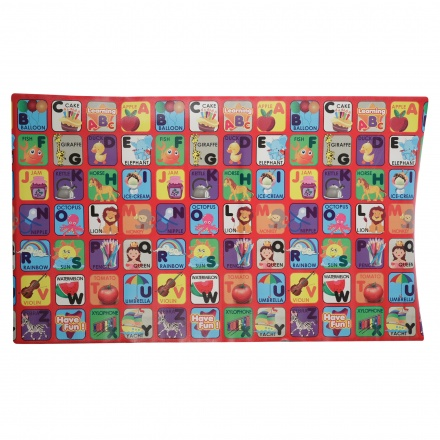 Juniors Printed Alphabets Roll Mat