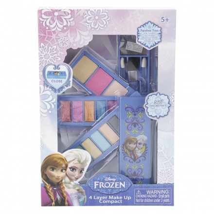 Frozen 4-layer Make Up Compact Set
