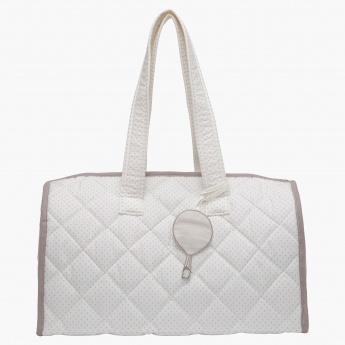 Juniors Quilted Diaper Bag