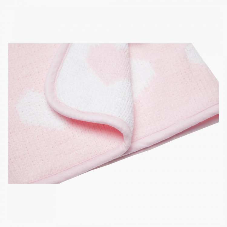 Juniors Chenille Blanket 2 Ply - 76 x 100 cms