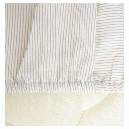 Juniors Striped Fitted Sheet