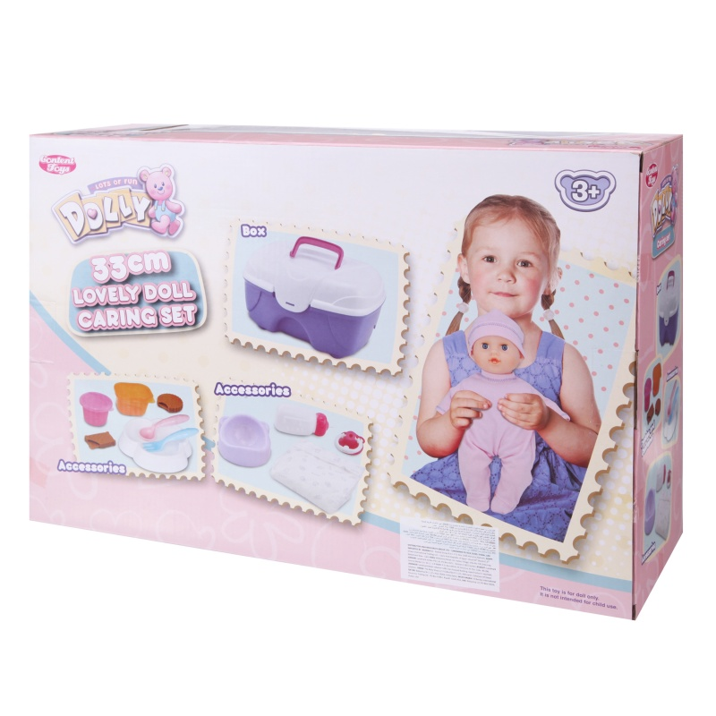 Content Toys Doll Caring Set