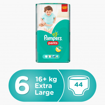 Pampers Pants Extra Large 44-Piece Diaper Pants Jumbo Pack