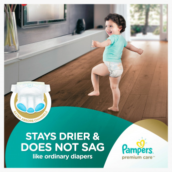 Pampers Premium Care Junior 20-Piece Diaper Pack