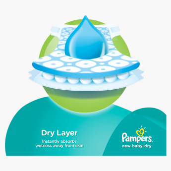 Pampers New Baby-Dry Small 192-Piece Diaper Pack