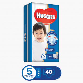 Huggies Superflex Econ Junior Diapers - Pack of 40