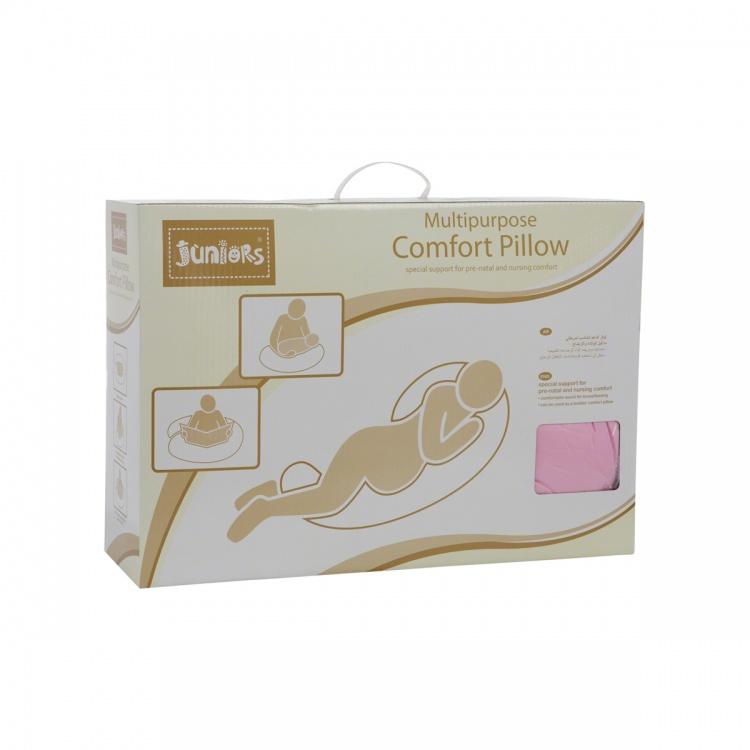 Juniors Solid Colour Comfort Pillow
