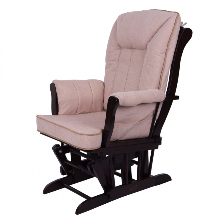 Giggles Ellington Glider Chair with Ottoman