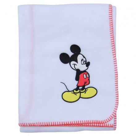 Mickey Mouse Baby Blanket