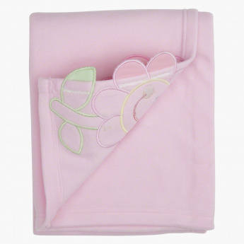 Juniors Embroidered Fleece Blanket