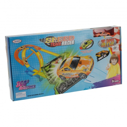 Juniors Speed Track Racer - 26 Pieces