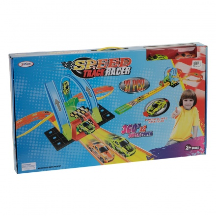 Juniors Road Racer Track Set - 37 Pieces
