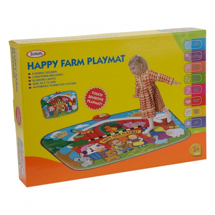 Juniors Happy Farm Playmat