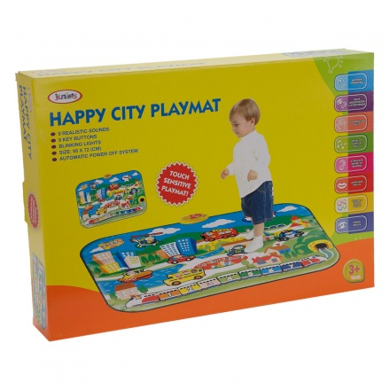 Juniors Happy City Playmat