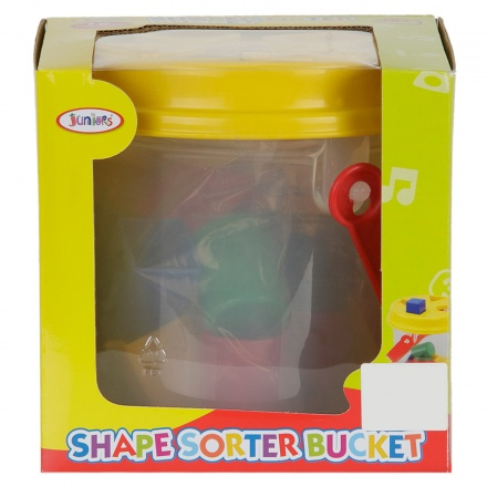 Juniors Shape Sorter Bucket