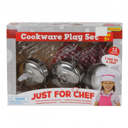 Champion 12-piece Cookware Play Set