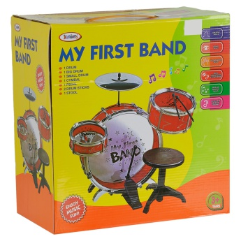 Juniors My First Band Drum Set