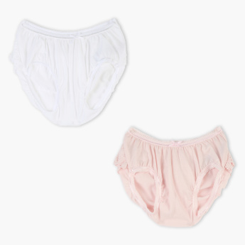 Juniors Diaper Briefs with Elasticised Waistband - Set of 2