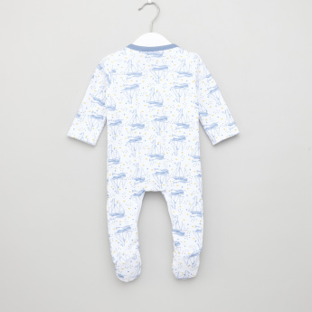 Juniors Closed Feet Sleepsuit - Set of 3