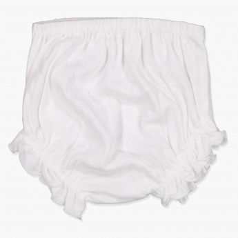 Juniors Eyelet Detail Bloomers