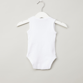 Juniors Sleeveless Solid Bodysuit - Set of 3