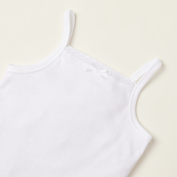 Juniors Lace Detail Bodysuit