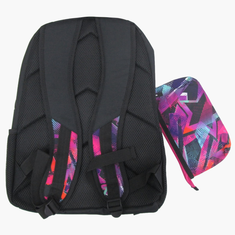 Juniors Printed 2-Piece Backpack Set