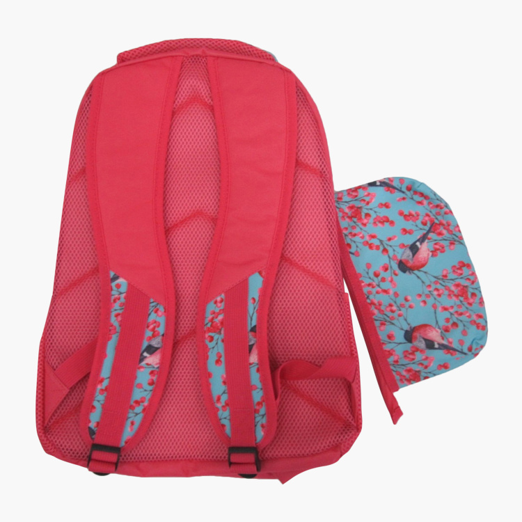 Juniors Printed Backpack with Pencil Case