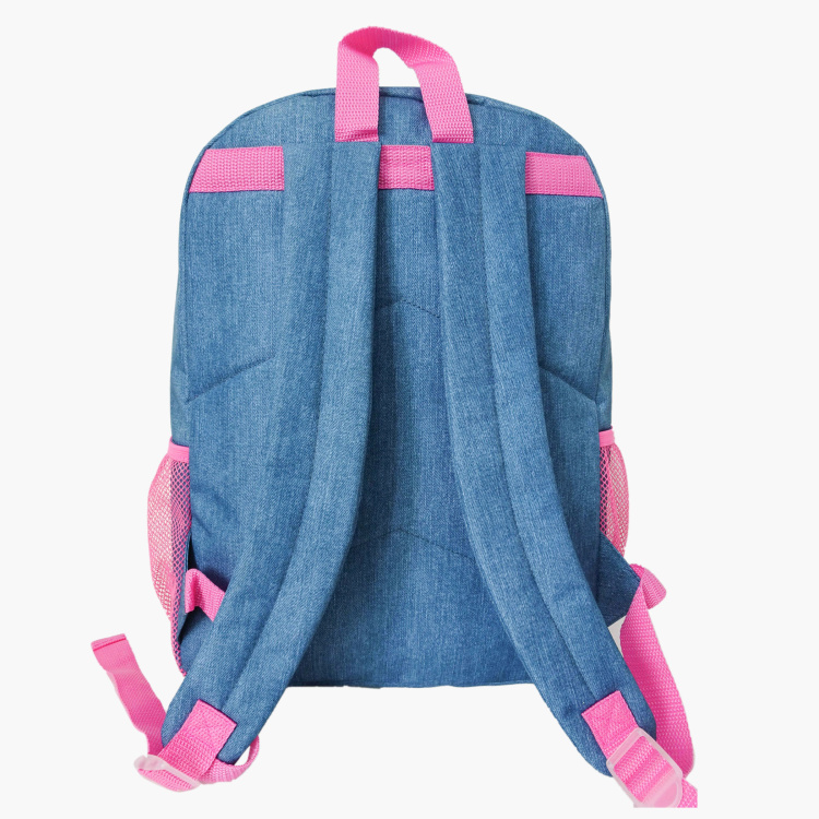 Juniors Printed Backpack with Adjustable Shoulder Straps