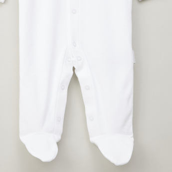 Giggles Long Buttoned Sleepsuit