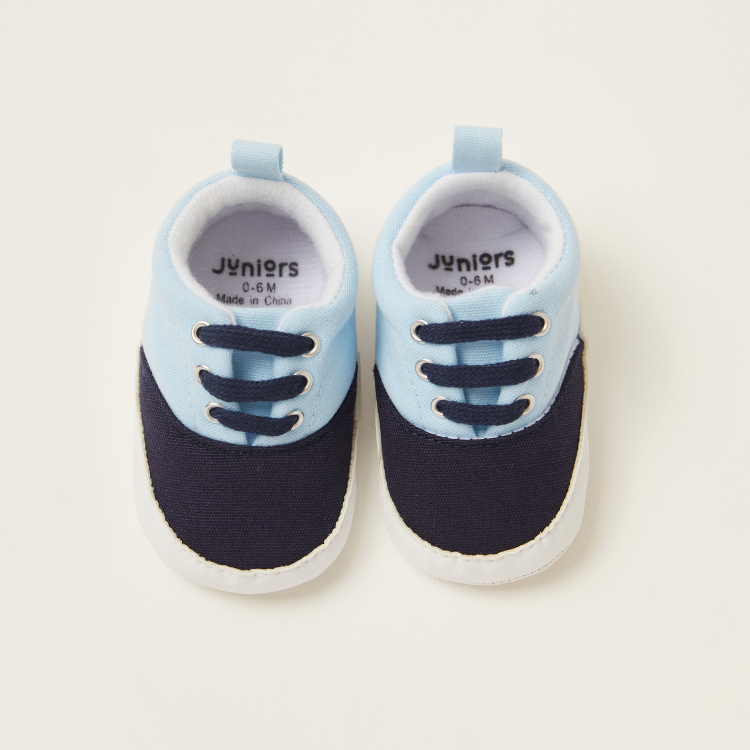 Juniors Colour Block Baby Shoes