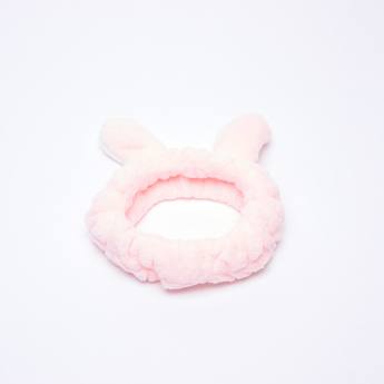 Charmz Plush Headband with Ear Appliques