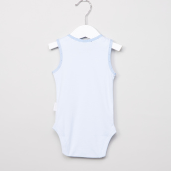 Giggles Printed Sleeveless Bodysuit