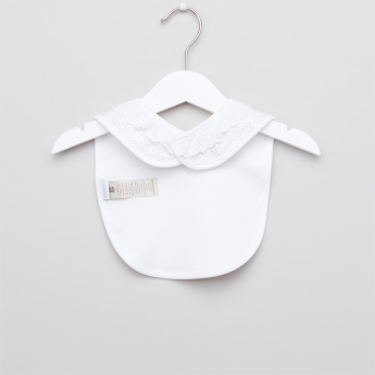 Giggles Printed Bib with Press Button Closure