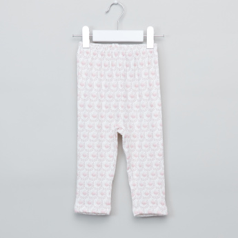 Giggles Printed Top and Pyjama Set