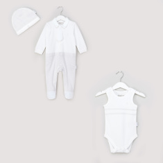 Giggles 3-Piece Printed Baby Clothing Set