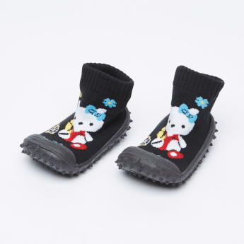 Cool Gripper Hello Kitty Printed Booties