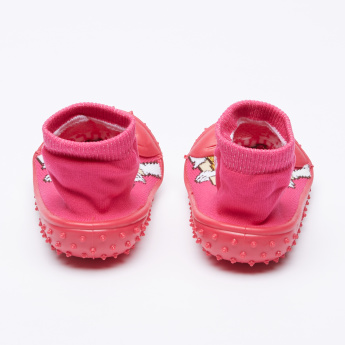 Cool Gripper Princess Textured Baby Shoes