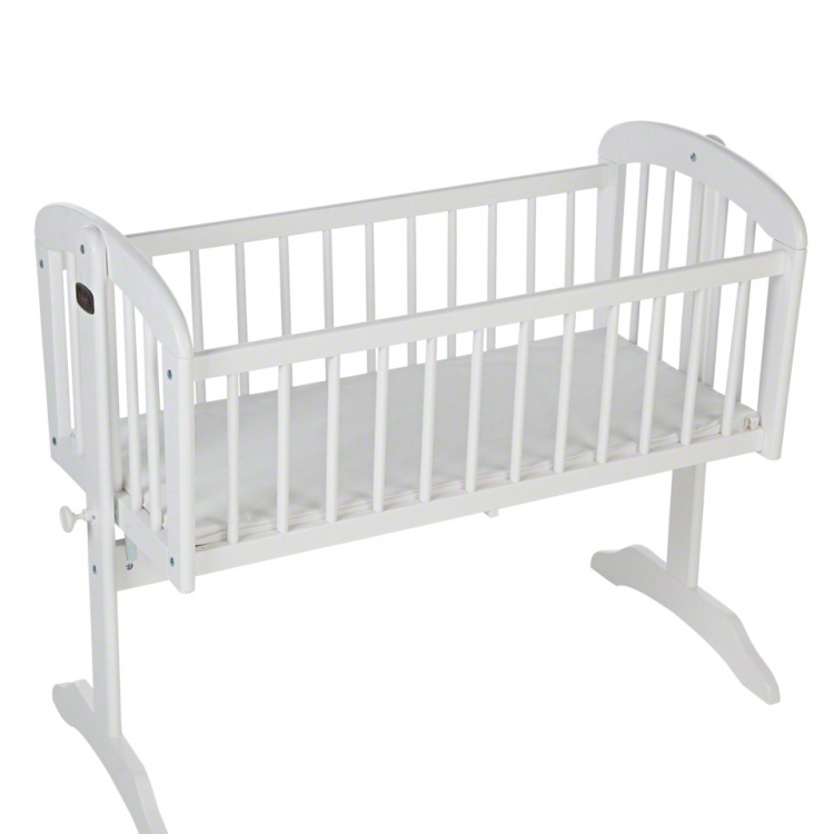 Juniors Kent Wooden Cradle with Mattress