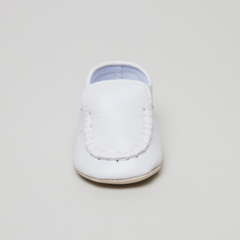 Juniors Stitch Detail Baby Shoes