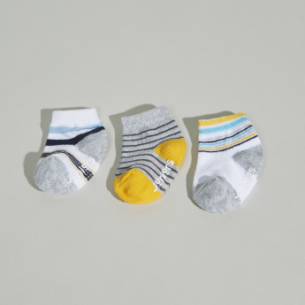 Juniors Striped Socks - Set of 3