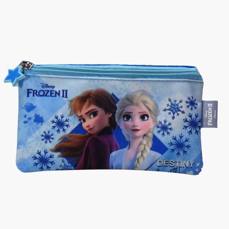 Disney Frozen II Printed 5-Piece Backpack Set - 14 inches