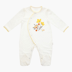Juniors Round Neck Sleepsuit with Long Sleeves