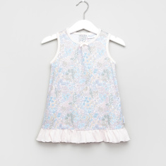 Giggles Floral Printed Sleeveless Sleep Dress